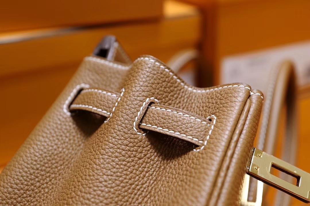 VIP一级品: Birkin25 Ck37金棕色 Togo皮 金扣 新鲜出货 Y刻